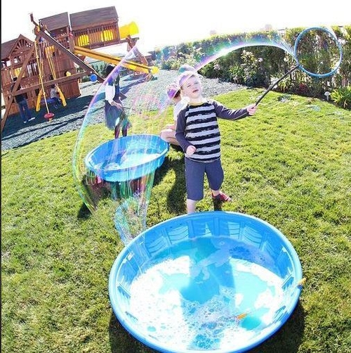 best-bubble-parties-outside-rainbow-bubble